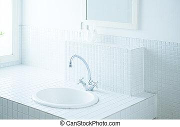 washroom - Clean washroom of the morning