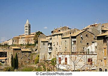 the medieval  city of Viterbo (Lazio, Italy)