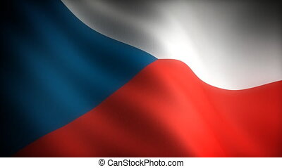 Flag of Czech Republic seamless