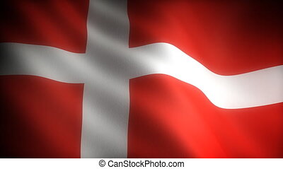 Flag of Denmark seamless
