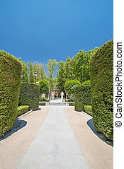 An image of Royal Gardens in Madrid