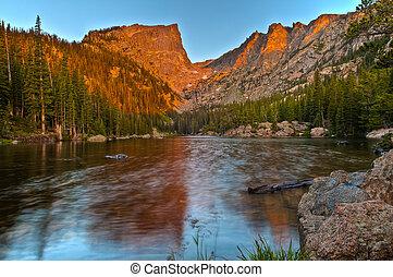 Dream Lake at Sunrise