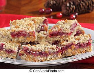 Cranberry Bar Closeup