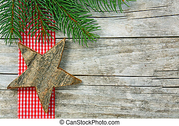 Christmassy background - a Christmas background with star of...