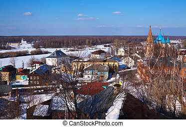 Gorokhovets in winter - view of Gorokhovets in winter....