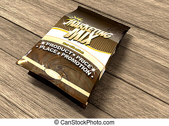 Marketing Mix The Four P's - A bag of a concept product...