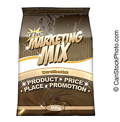 Marketing Mix - The Four P's - A bag of a concept product...