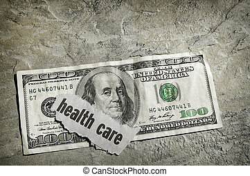 Dinheiro, cuidados de saúde