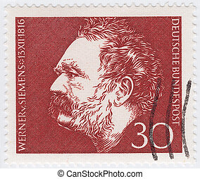 GERMANY - CIRCA 1986 : stamp printed in Germany showing...
