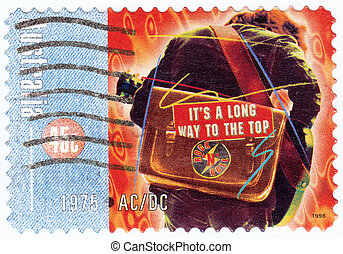 AUSTRALIA - CIRCA 1998: stamp printed in the Australia shows...