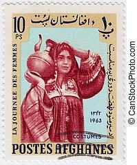 AFGHANISTAN - CIRCA 1963 : stamp printed in Afghanistan...