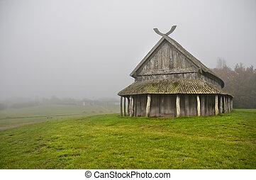 Vikings house3 - Trelleborg