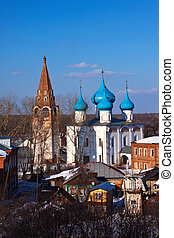 Gorokhovets in winter. Russia - Cathedral of the...