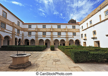 Palace of the Knights Templar in Tomar, Portugal - Palace of...