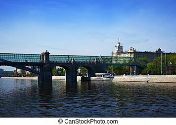 View of Moscow. Andreyevsky Bridge - View of Moscow....
