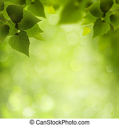 Natural Beauty. Abstract eco backgrounds for your design