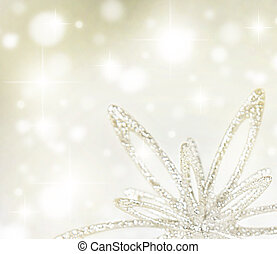 Christmas holiday background - Christmas tree ornament...