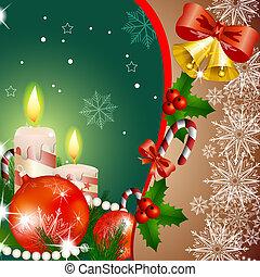 Christmas glowing