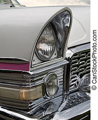Retro car - The retro car closeup