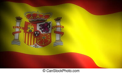Flag of Spain seamless