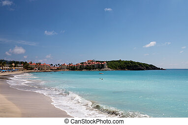 Timeshare apartment hotel in St Martin