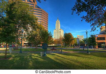 Civil War Park - Civil War Memorial Park in Memphis, TN.