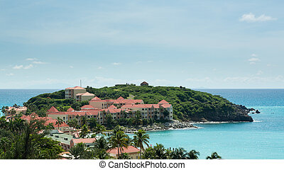 Timeshare apartment hotel in St Martin - Timeshare building...