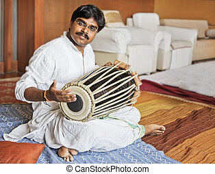 Hanumant Ghadge Tabla accompaniment