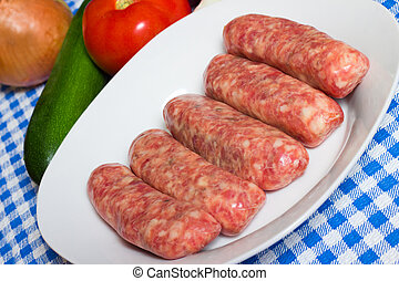 italiano, linguiça