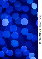 Magical lights - Christmas holiday background of sparkling...
