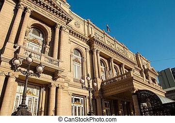 Colon Theater Exterior - Exteror of historic Colon Theater...