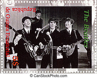 REPUBLIC GUINEA ECUTORIAL CIRCA 2003 : The Beatles - 1980s...