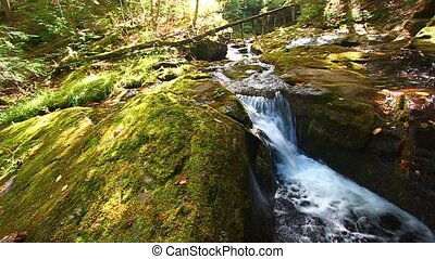 Union River Gorge Cascades - Cascades of the Union River...