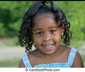 Beautiful child - Beautiful African american little girl