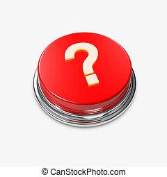 Red Alert Button Question Mark