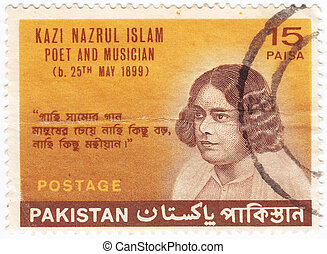 PAKISTAN - CIRCA 1969: stamp printed in the Pakistan show...