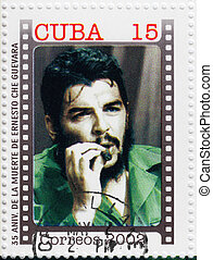 CUBA - CIRCA 2002 : Stamp printed in Cuba, anniversary of...