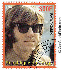 CONGO - CIRCA 2007 : Stamp printed in Congo shows...