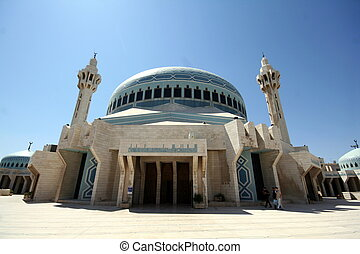 King Abdullah mosque I in Amman, Jordan