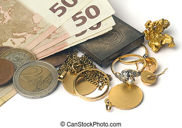 Purchase and sale of old jewels