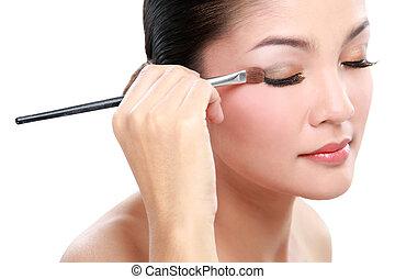 eyelid make up
