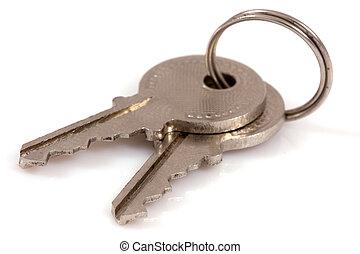 clés, deux