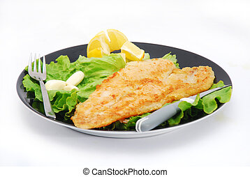 Tasty fish fillet