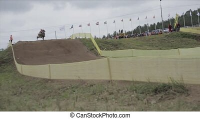 Kivioli Motocross Bikes 1 - KIVI?LI, ESTONIA - AUGUST 14:...