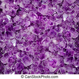 amethyst druze - Natural amethyst crystal background...