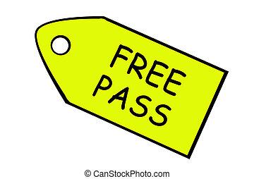 Free pass - price target - Free pass - yellow price target...