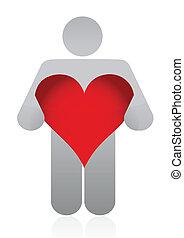 heart icon illustration
