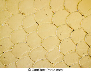 fish scale wall texture background