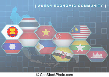 South East Asia countries that will be member of AEC