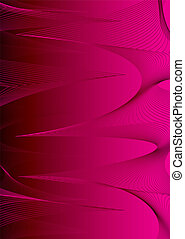 Magenta spiral - Modern abstract background in magenta with...